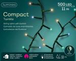 GUIRLANDE COMPACT 500L MULTICOLORE