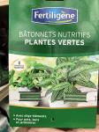 40 BATONNETS NUTRITIFS PLANTES VERT