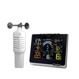 Station météo avec anémomètre radio-pilotée