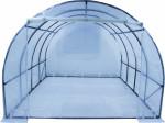 Serre tunnel de culture 3 x 3 m livrée avec bâche translucide 150 gr/m2