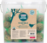 MENU NATURE 50 BOULES DE GRAISSE 4,5 KG