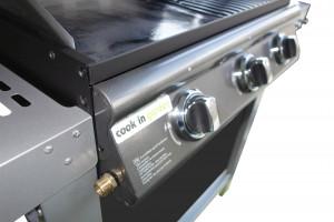 Barbecue mixte gaz PUERTA LUNA