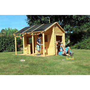 Cabane en bois pour enfant CONSTANCE