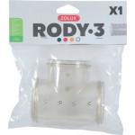 TUBE T RODY3 GRIS TRANSPARENT